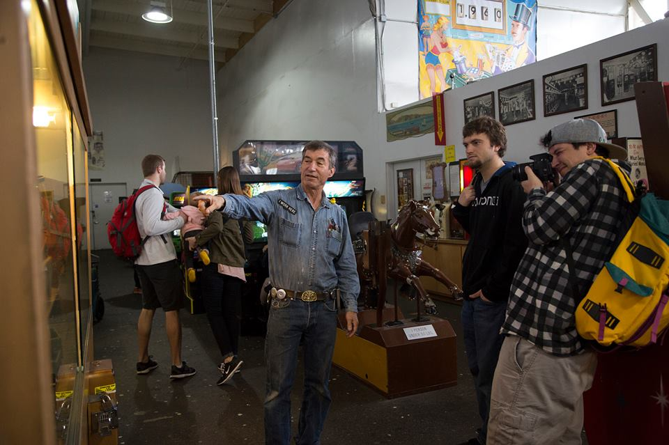 meet new people in san francisco's musee mecanique