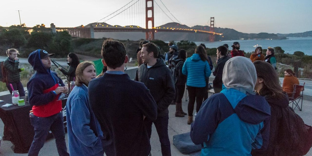 meet people at the FOGG Trail Mixer @ the Golden Gate, in san francisco