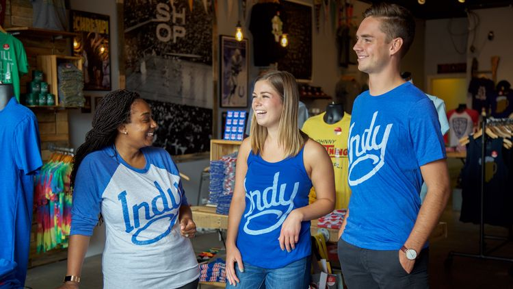 meet people in indianapolis, shop local and support the community